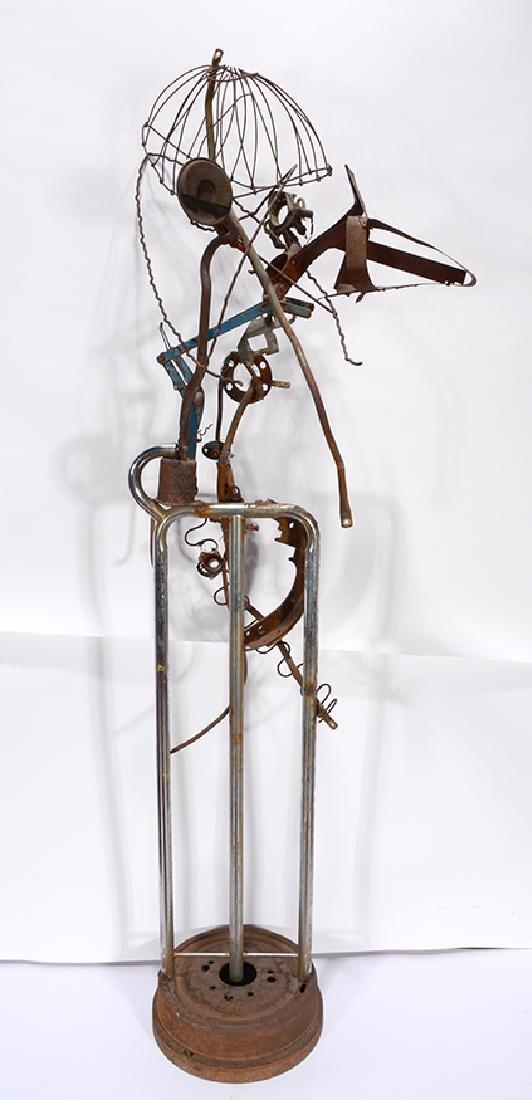 Charlie Lucas. Large Bird Sculpture. - 3