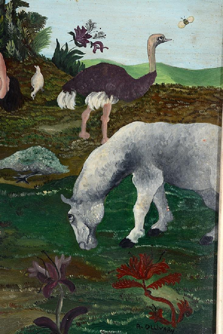 R. Ollivary. Leda & The Swan. - 4