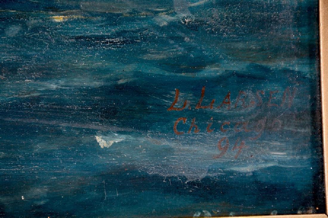 L. Larson. Viking Ship. - 10