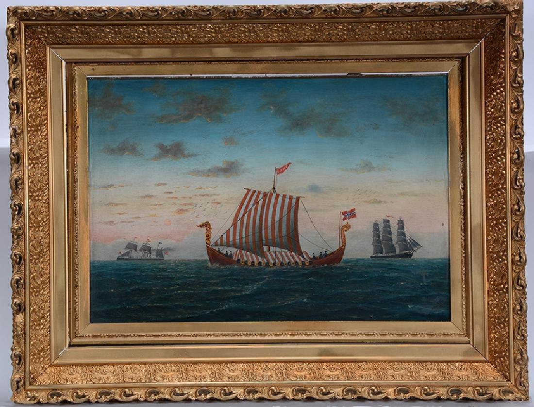 L. Larson. Viking Ship.