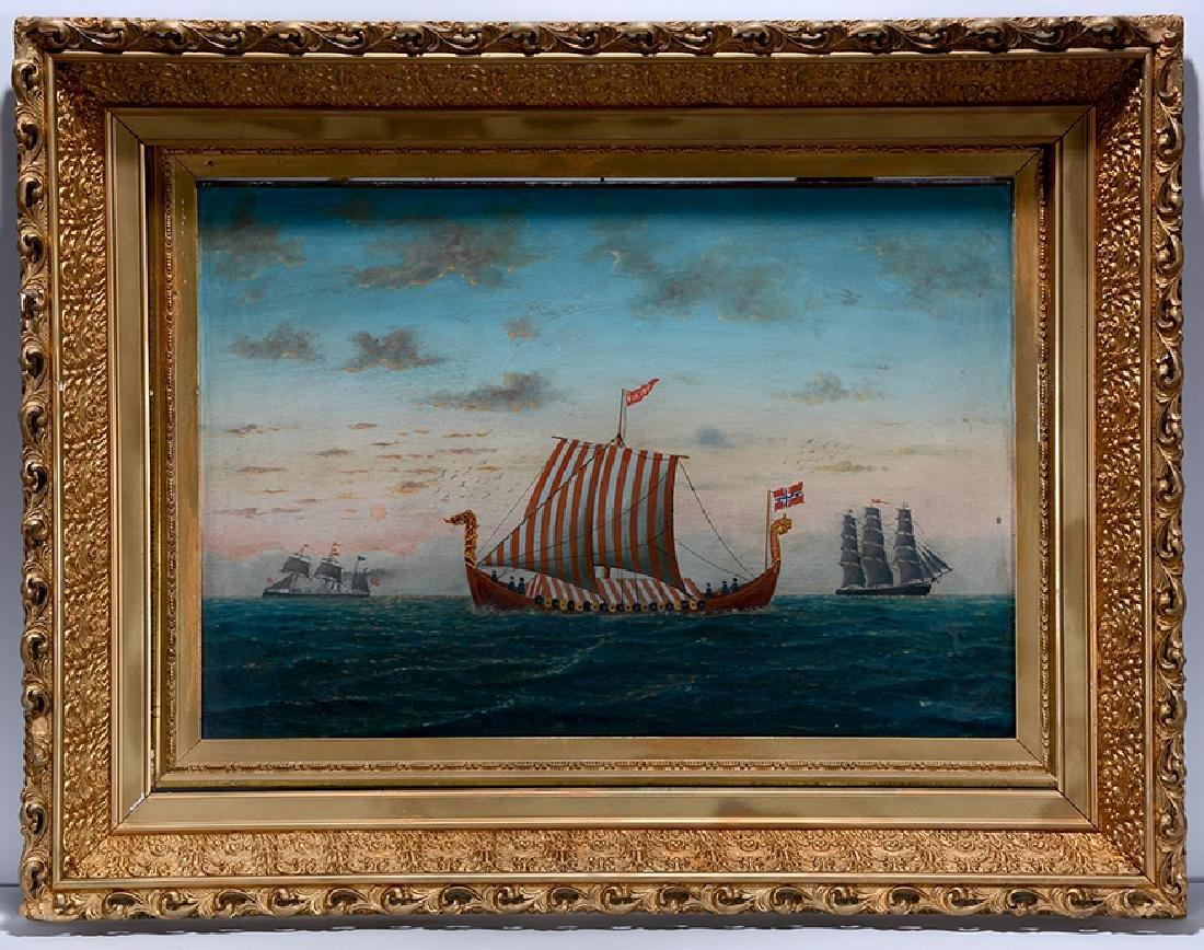 L. Larson. Viking Ship. - 2