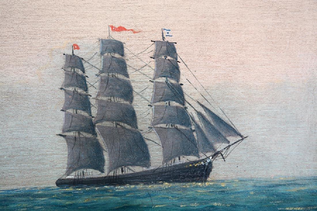 L. Larson. Viking Ship. - 3