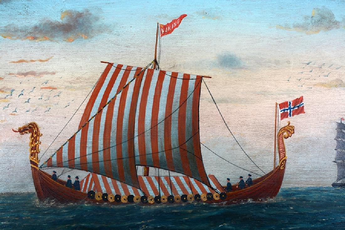 L. Larson. Viking Ship. - 4