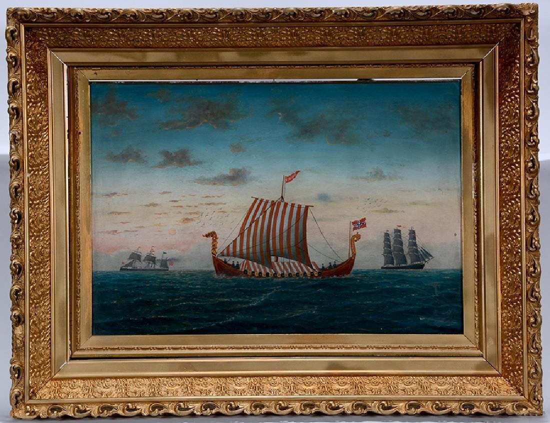L. Larson. Viking Ship. - 6