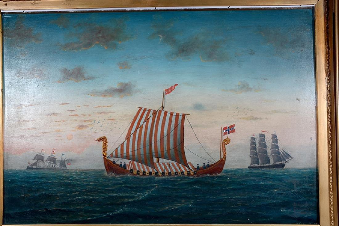 L. Larson. Viking Ship. - 7