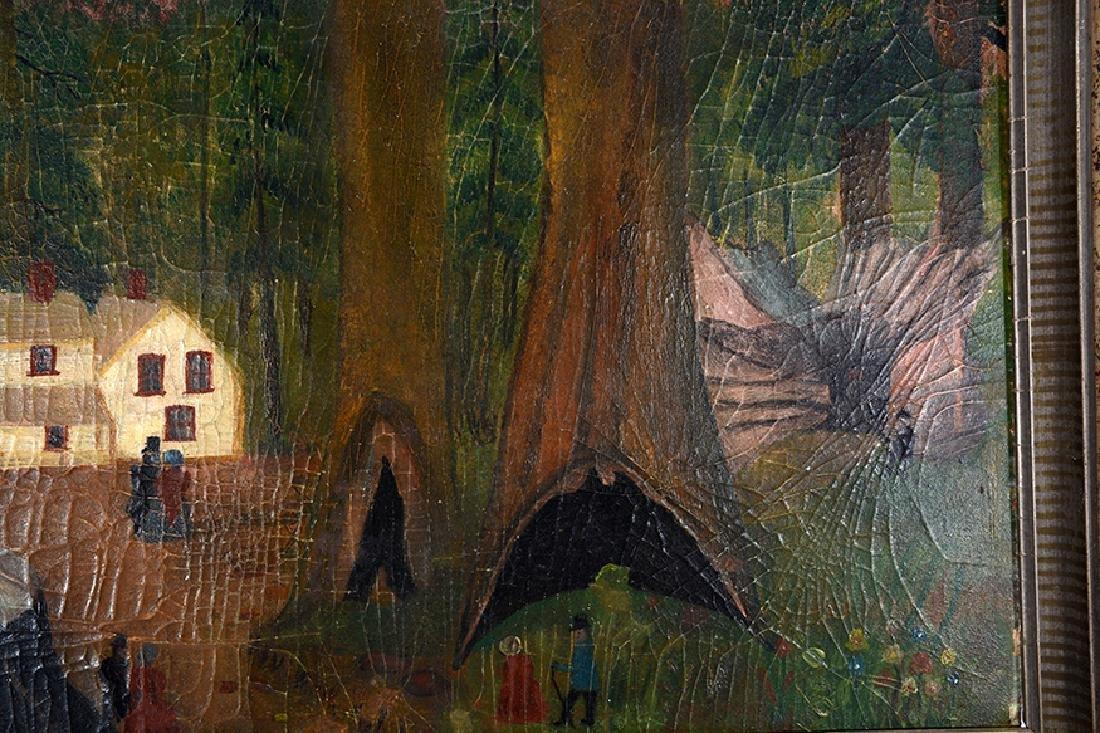 New England Woodsmen w Giant Trees. - 6