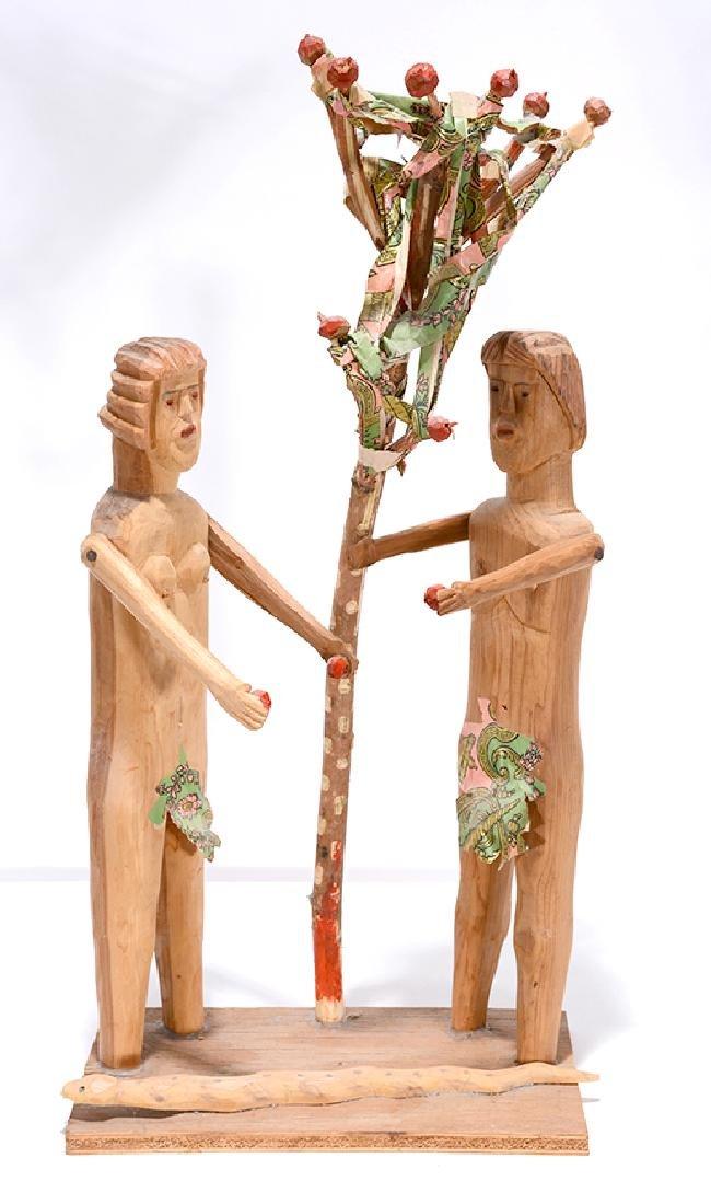 Carl McKenzie. Adam & Eve w Serpent.