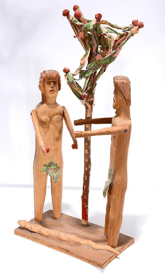 Carl McKenzie. Adam & Eve w Serpent. - 2