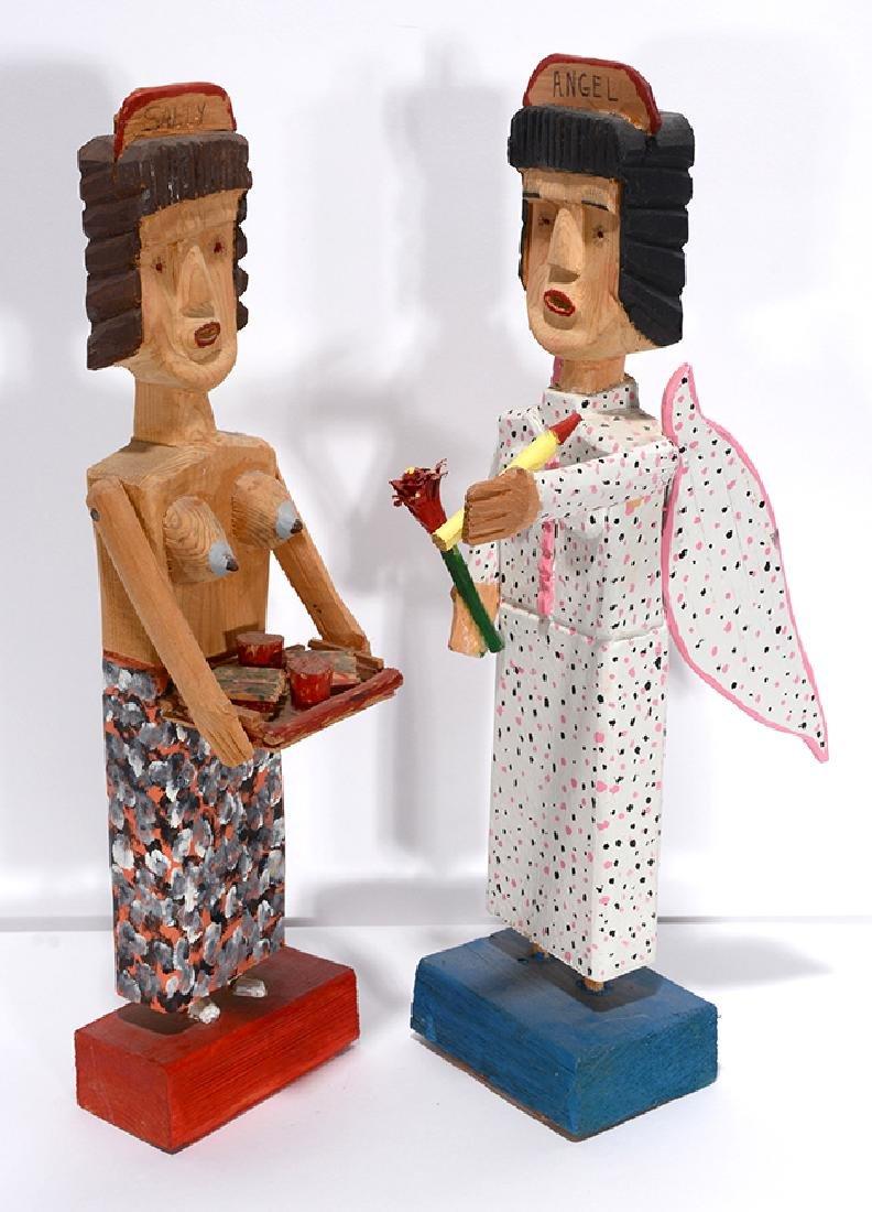 Carl McKenzie. Topless Waitress & Angel.