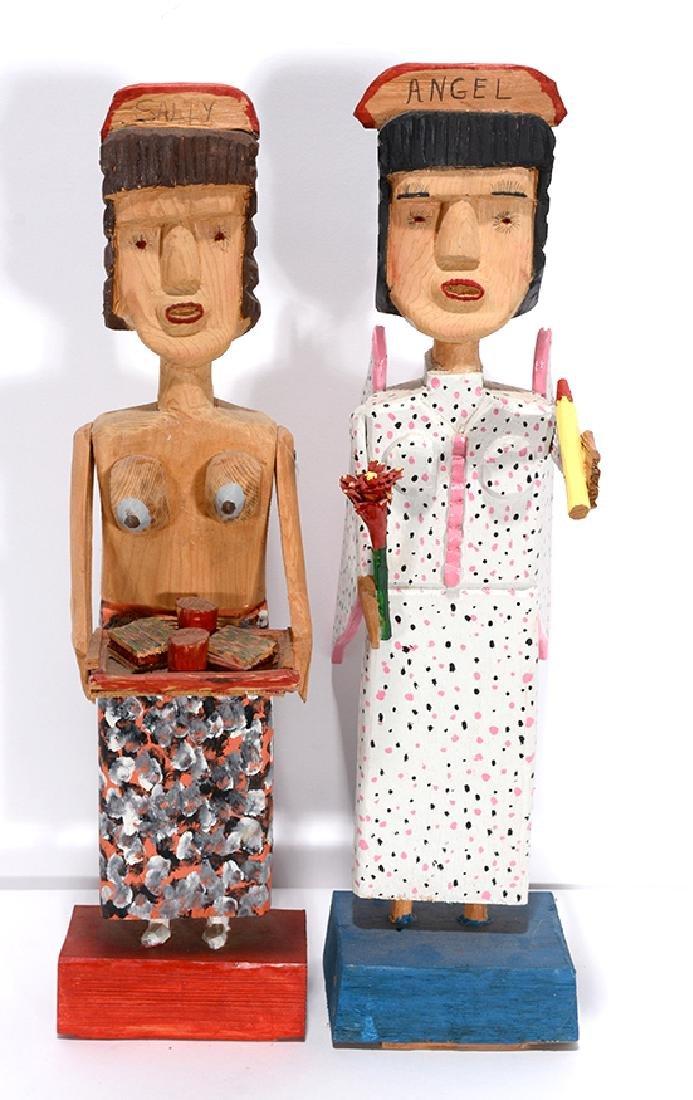 Carl McKenzie. Topless Waitress & Angel. - 2