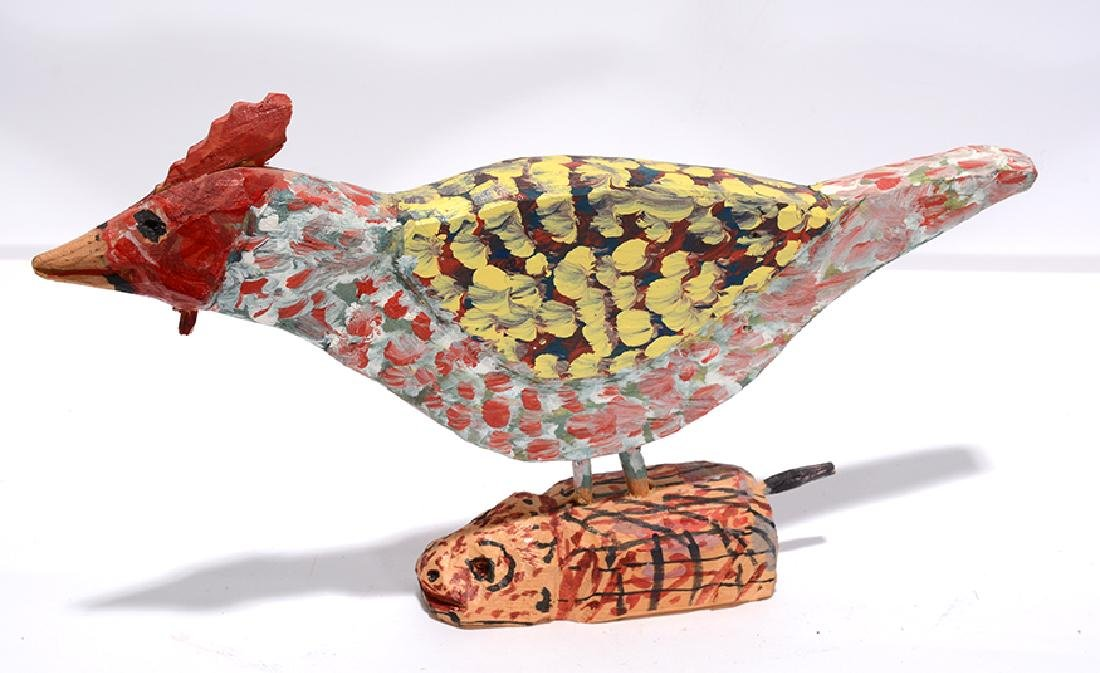 Carl McKenzie. Rooster On A Mouse. - 2