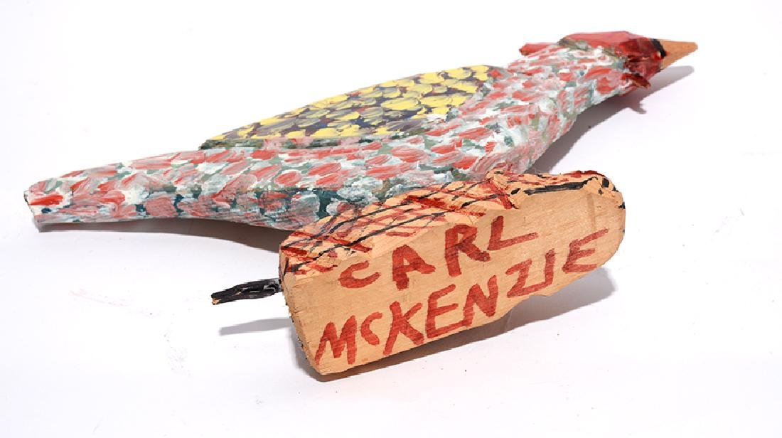 Carl McKenzie. Rooster On A Mouse. - 3