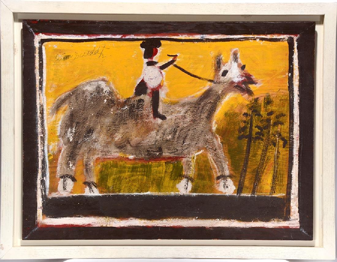 Jimmy Lee Sudduth. Woman On Camel.