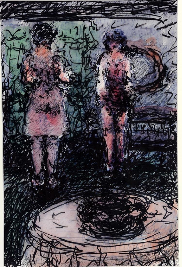 Malcolm McKesson. Two Women.