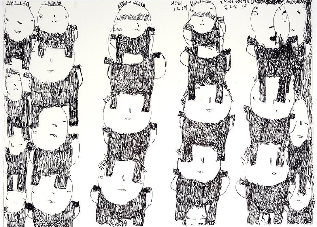 Donald Mitchell. Totem Figures.