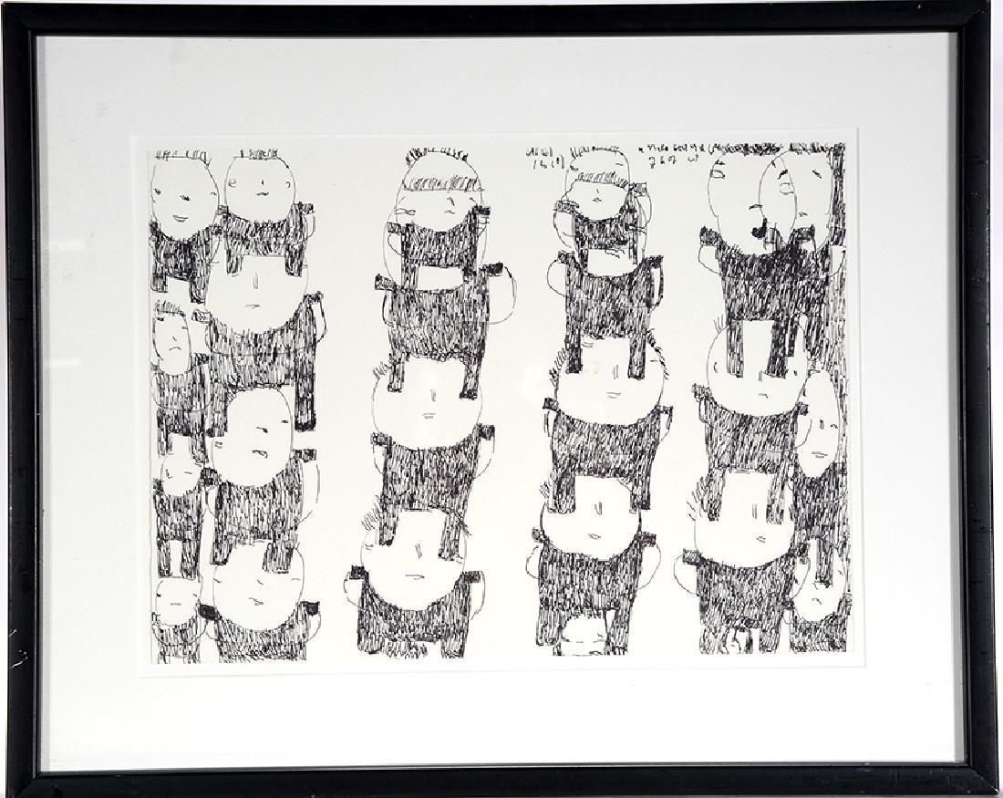 Donald Mitchell. Totem Figures. - 2