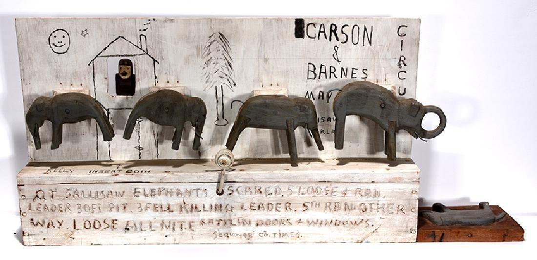 Jim Colcough. Carson & Barnes Circus.