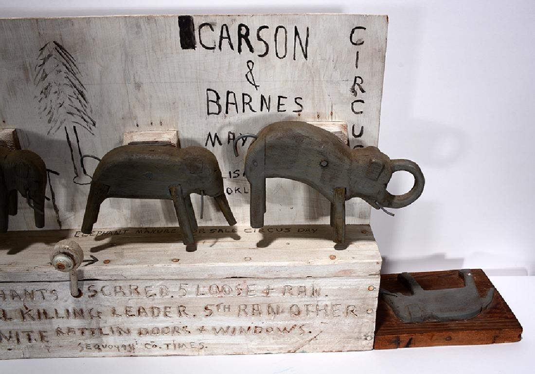 Jim Colcough. Carson & Barnes Circus. - 4