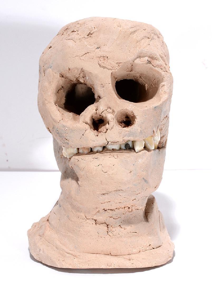 James Son Thomas. Skull With Teeth.