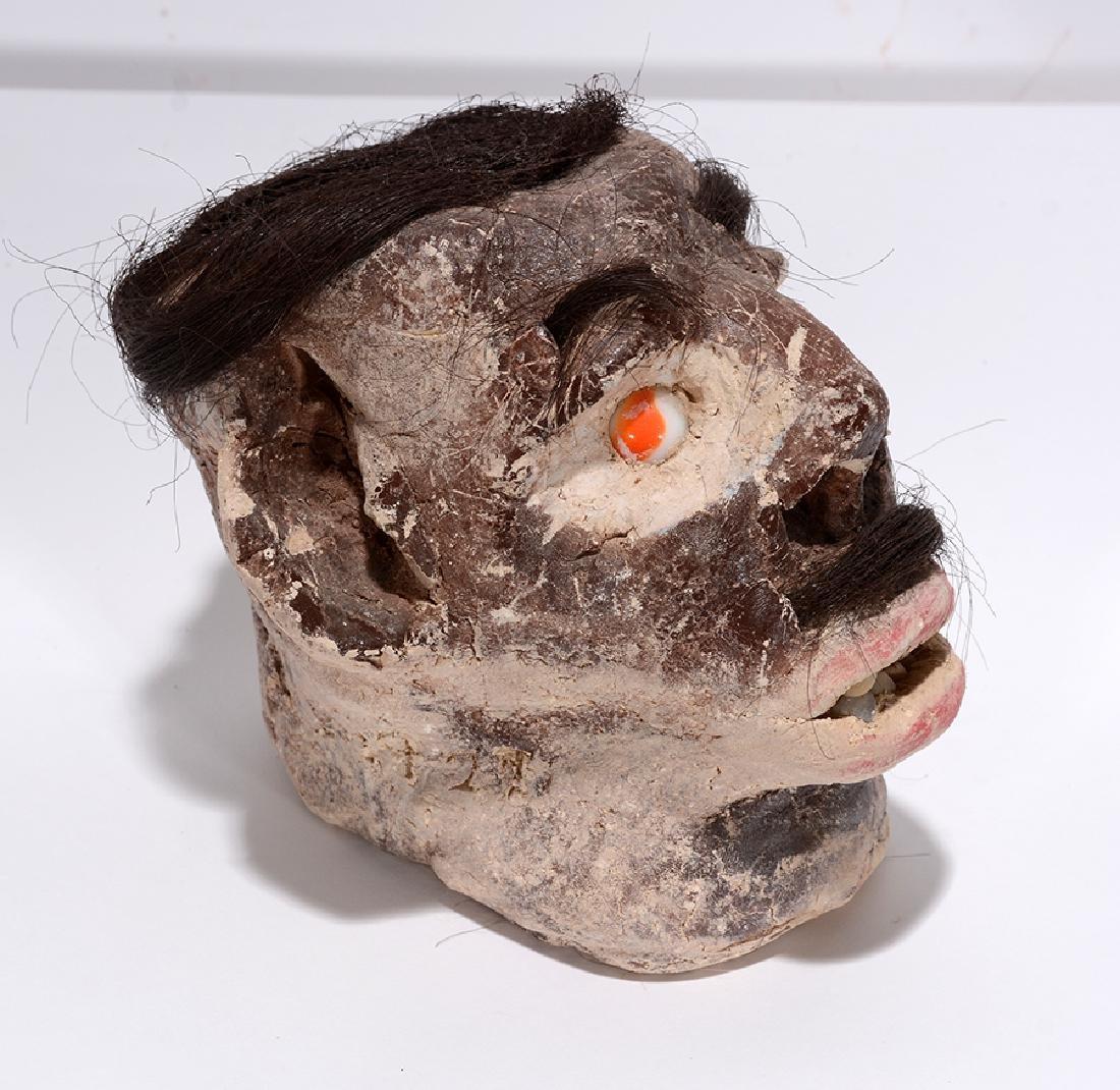 James Son Thomas. Skull With Hair. - 2