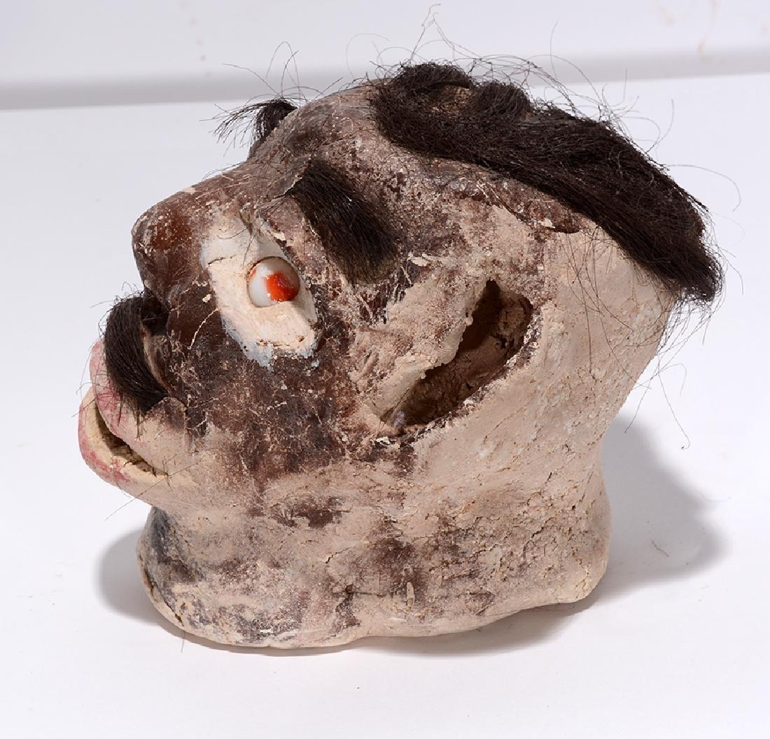 James Son Thomas. Skull With Hair. - 3