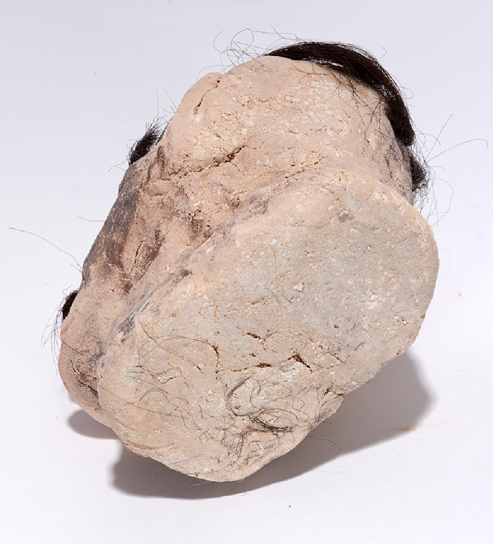 James Son Thomas. Skull With Hair. - 4