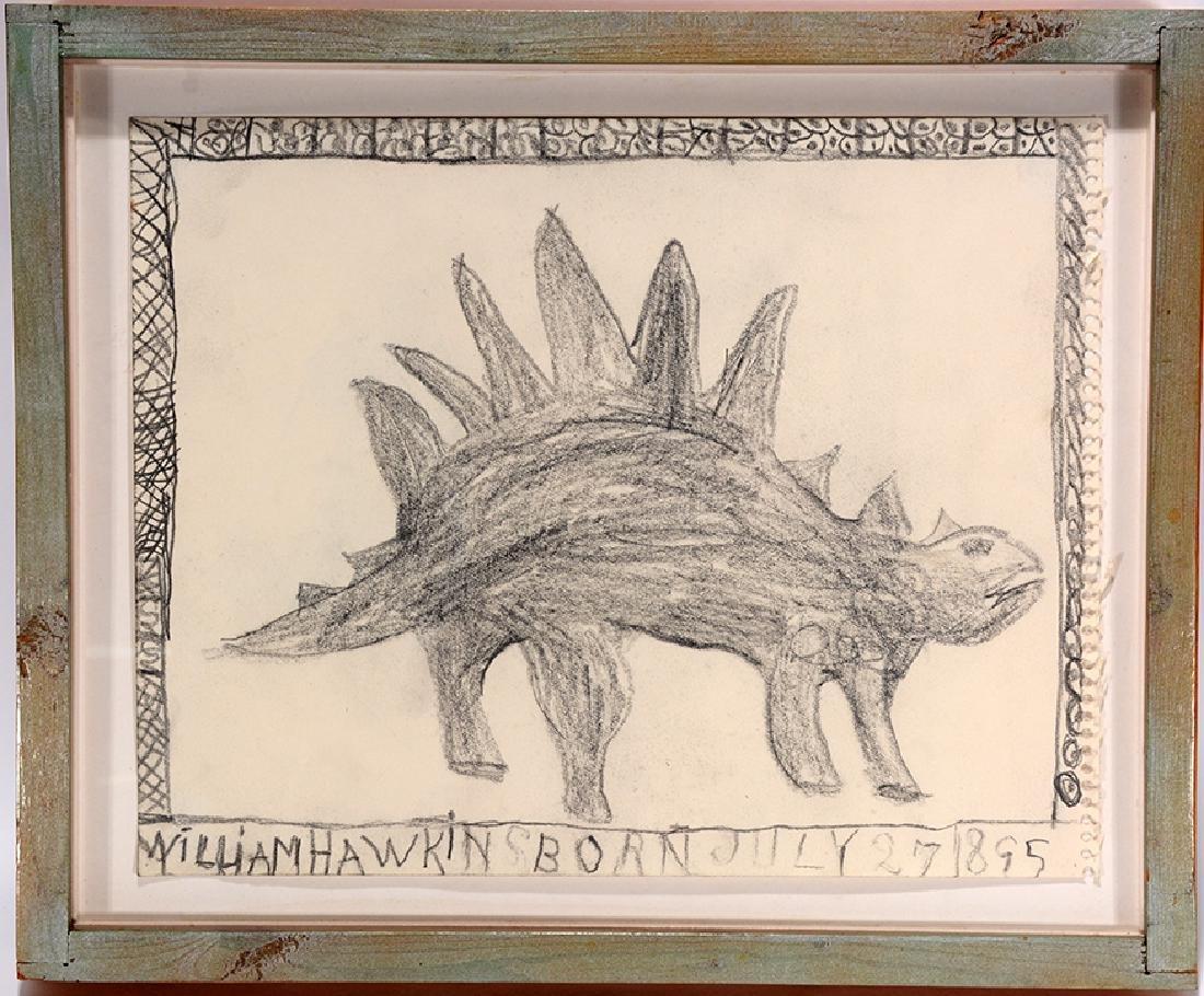 William Hawkins. Stegosaurus. - 2