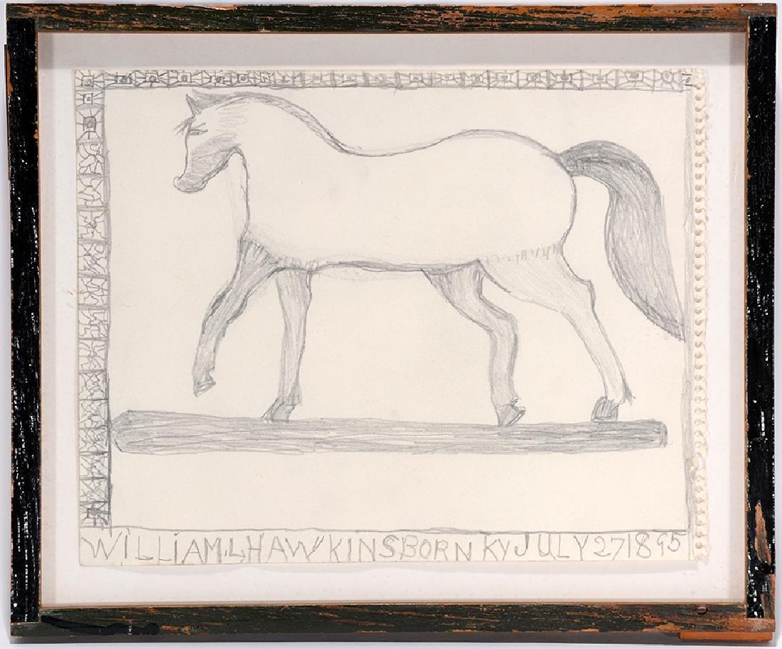 William Hawkins. Horse.