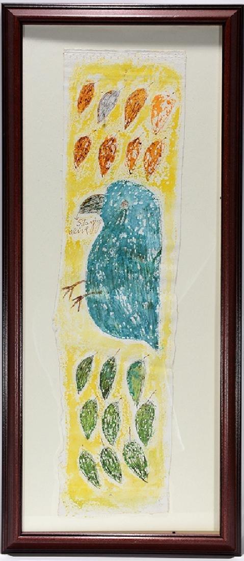 Lee Godie. Staying Alive Blue Bird.