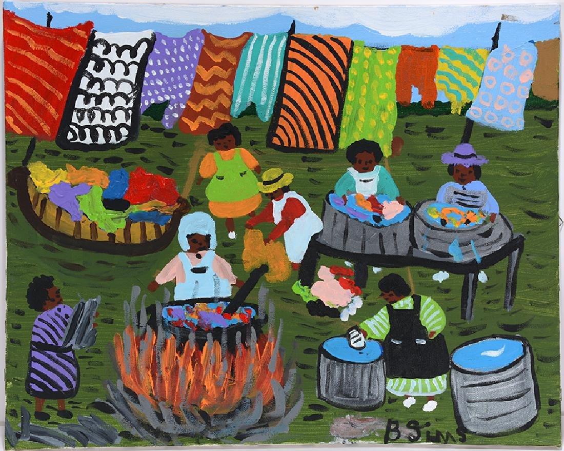 Bernice Sims. Laundry Day.