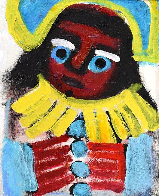 Eddy Mumma. Boy With Yellow Collar.