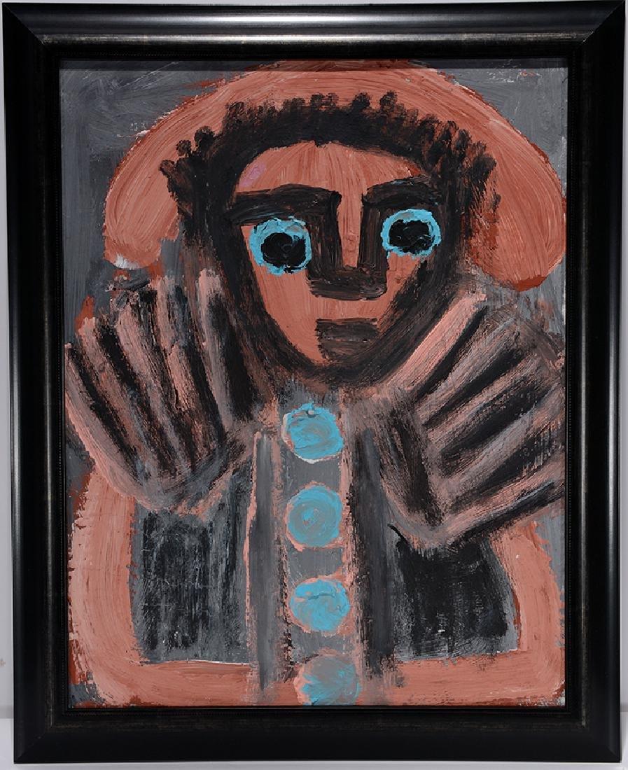 Eddy Mumma. Portrait With Jazz Hands.