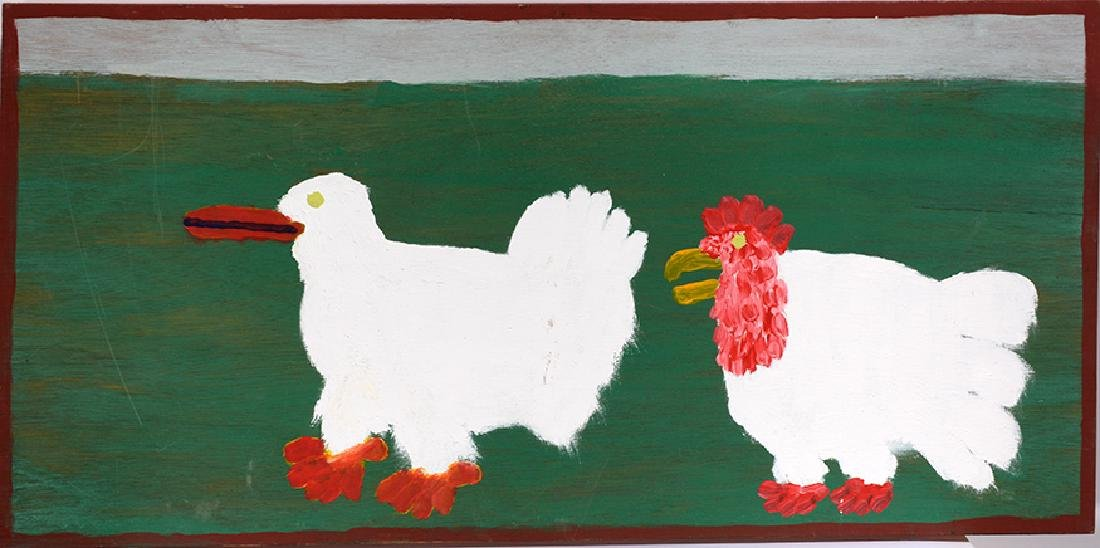 Jake McCord. Hen And Rooster.