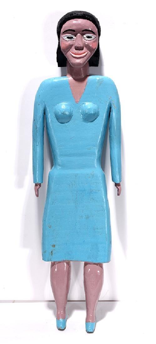 George Williams. Lady In Blue Dress.