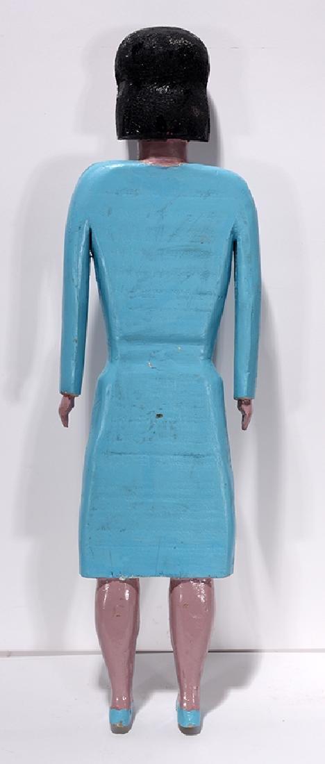 George Williams. Lady In Blue Dress. - 2
