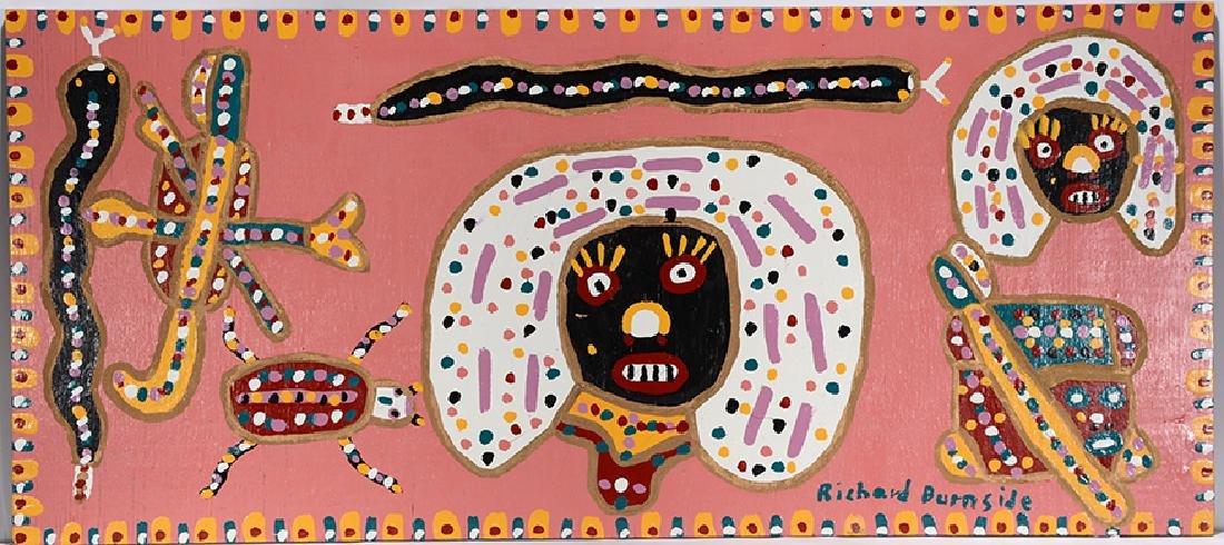 Richard Burnside. Pink Queen & Snakes.