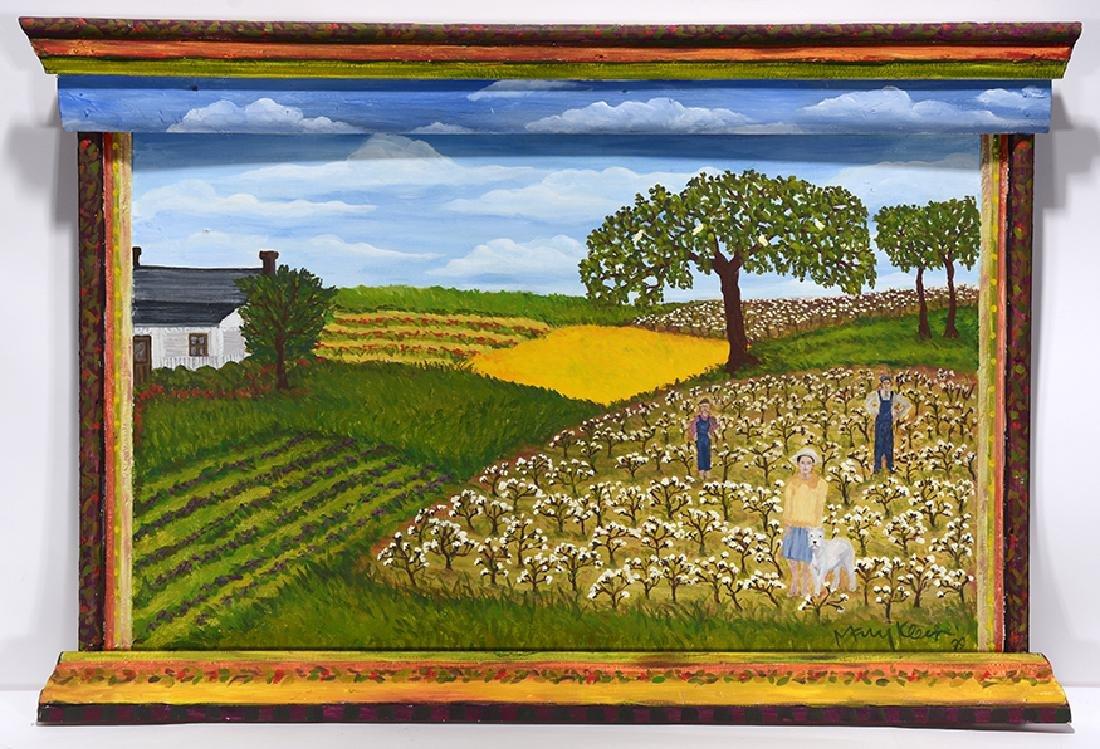 Mary Klein. Rural Cotton Fields.