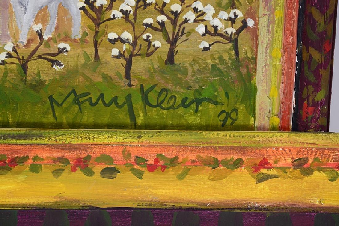 Mary Klein. Rural Cotton Fields. - 2