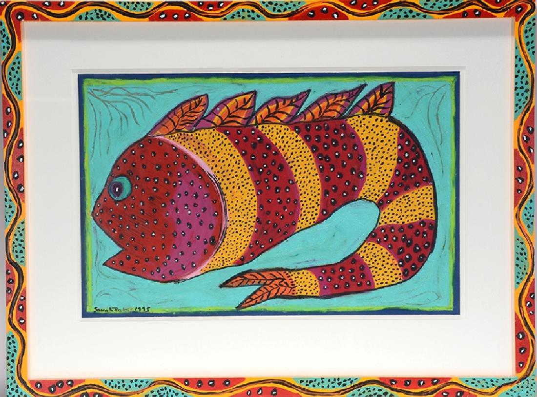 Sarah Rakes. Large Pond Fish.