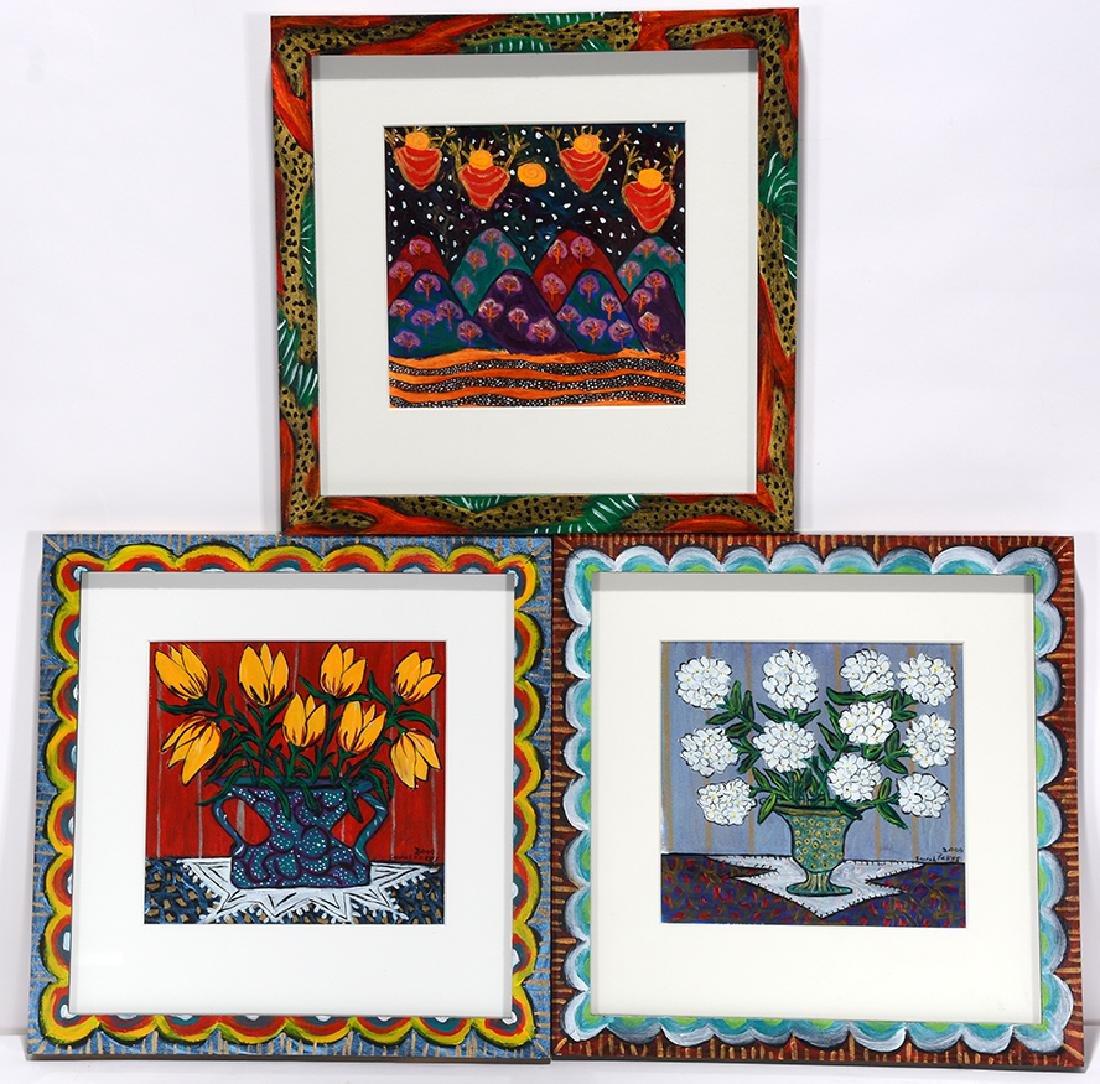 Sarah Rakes. Flowers & Lunar Infants.
