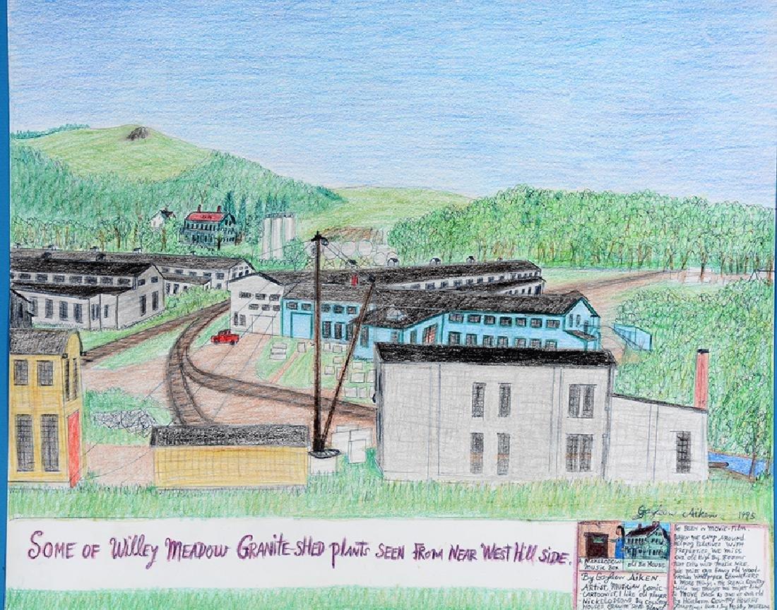 Gayleen Aiken. Willey Meadow Granite Plant. - 2