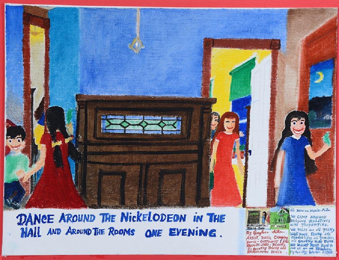 Gayleen Aiken. Dance Around Nickelodean. - 2