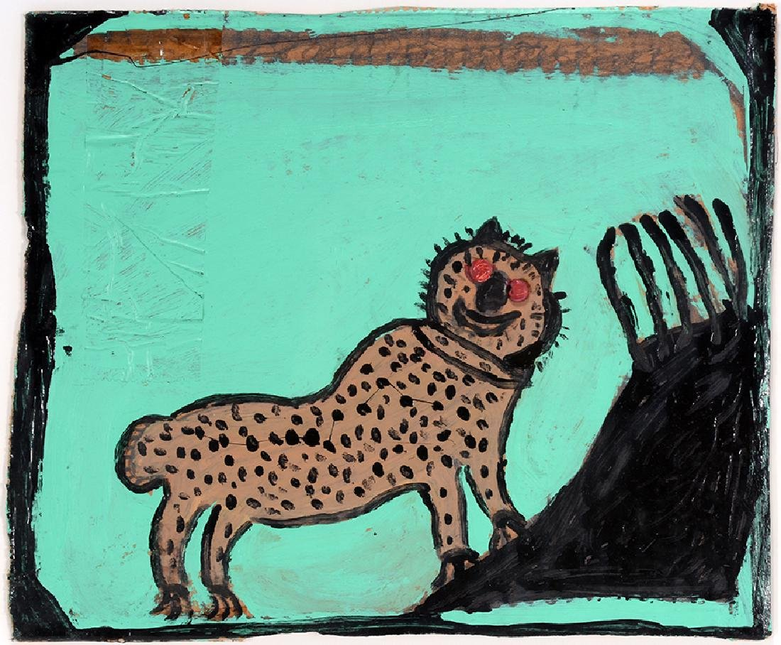 Willie Massey. Spotted Leopard.