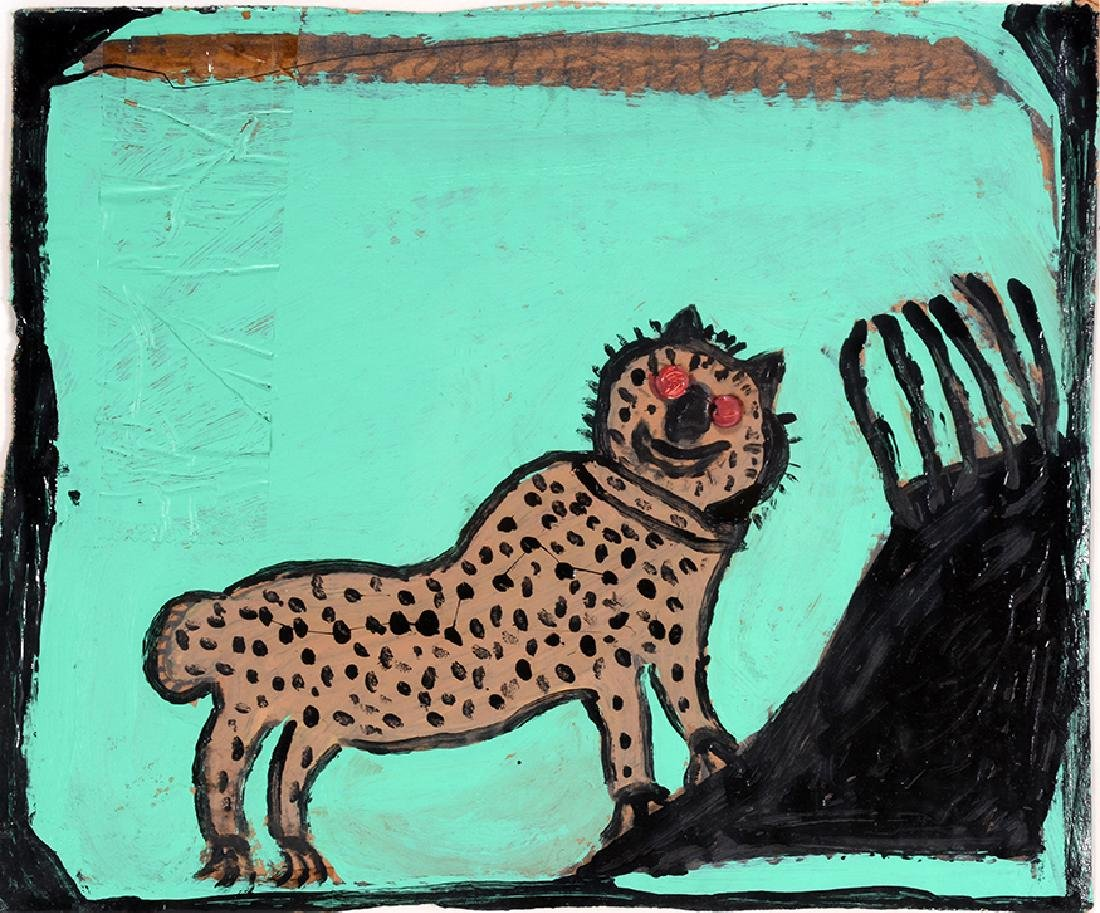 Willie Massey. Spotted Leopard. - 3