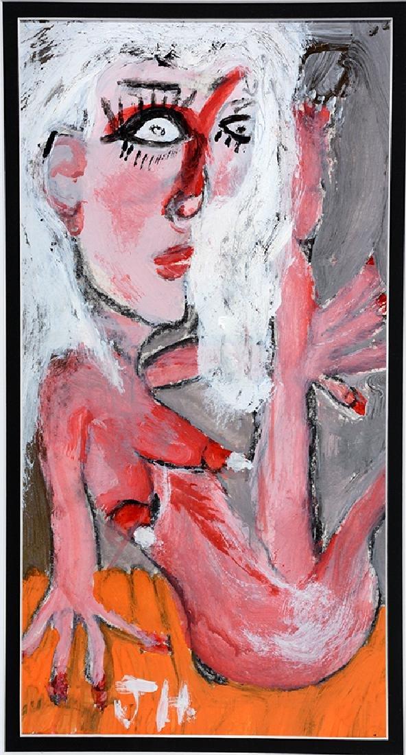 Joseph Hardin. Reclining Nude.