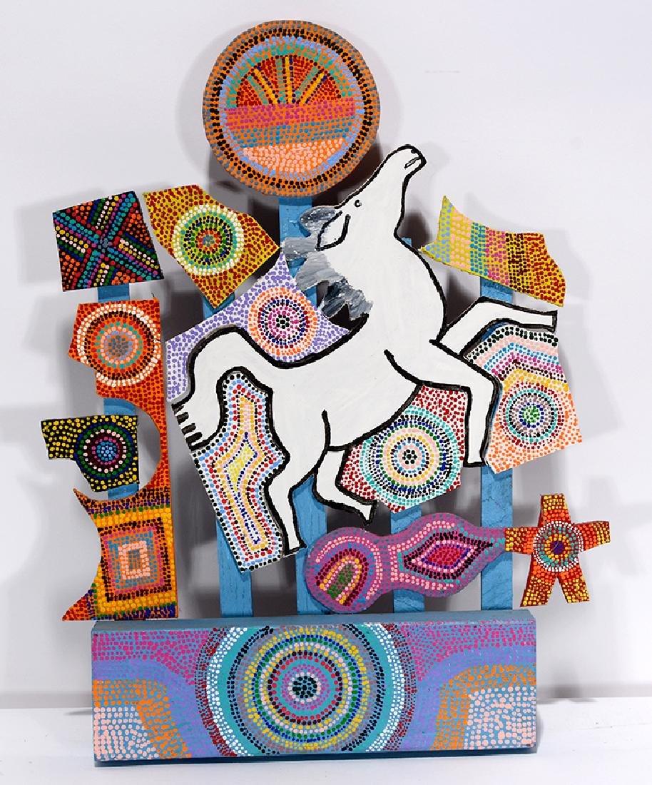 James Harold Jennings. White Horse.