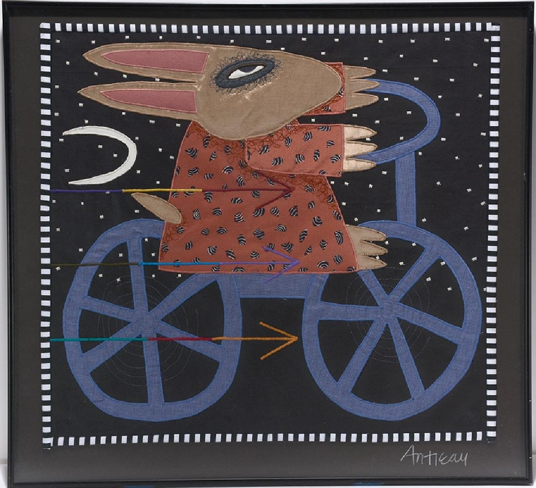 Chris Roberts-Antieau. Rabbit Riding Bicycle.
