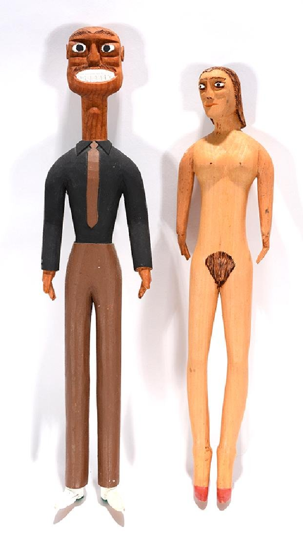 Sulton Rogers. Nude Woman & Man.