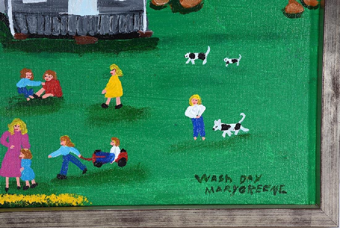 Mary Greene. Wash Day. - 2