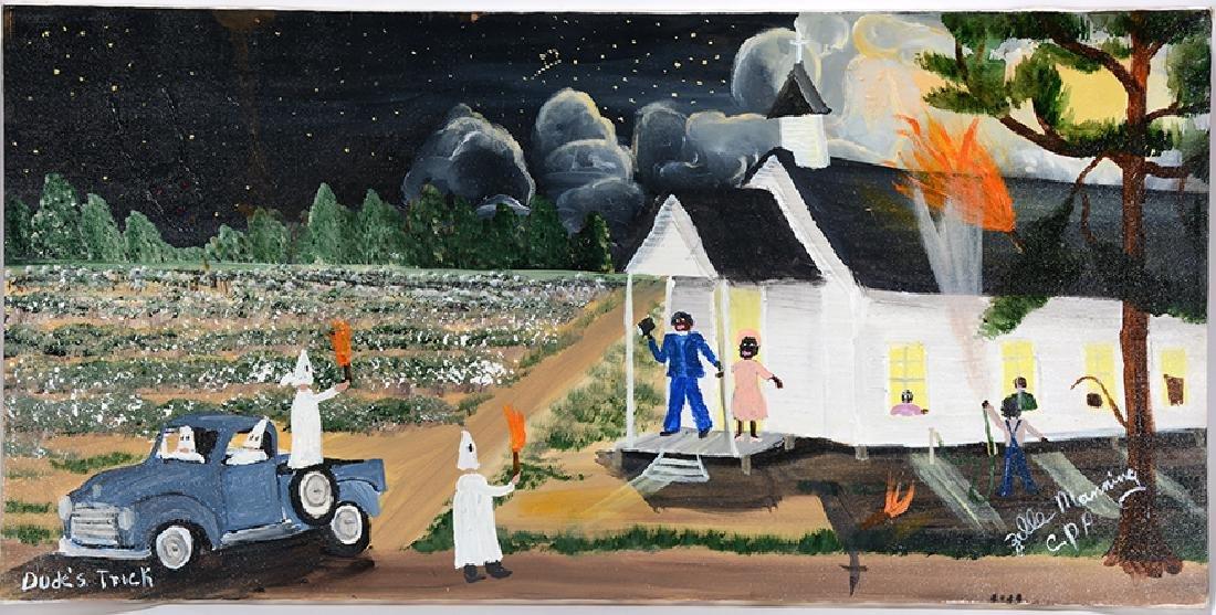 Zelle Manning. Devil & Angel Over Klan.